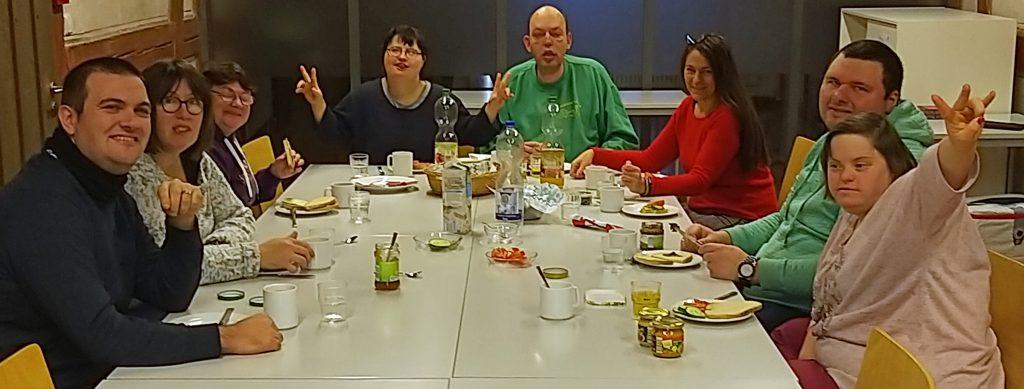 Seminar für Paare - beim Frühstück. Foto: Uwe Roth